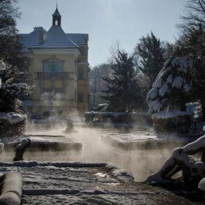 Hellbrunn im Winter